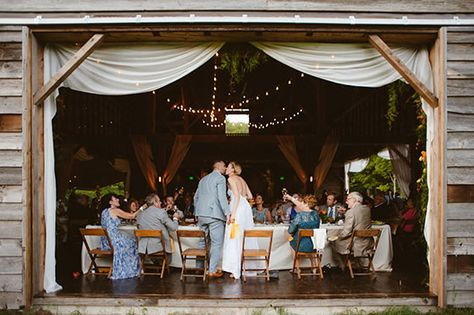 Real Wedding At Handsome Hollow In Upstate Ny Image By Jbm Weddings Barn Ranch Farm Pinterest Venues Reception