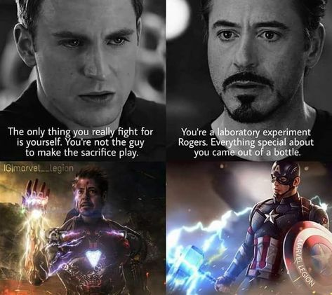 Gotta say the Russo brothers srsly did great for this