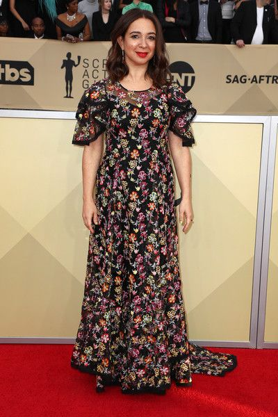 Actor Maya Rudolph attends the 24th Annual Screen Actors Guild Awards.
