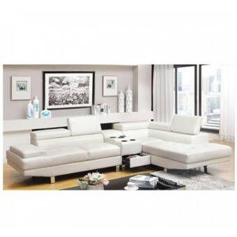 Birch Lane Heritage Kearney Sectional Reviews Wayfair Furniture Furniture Of America Sectional Sofa