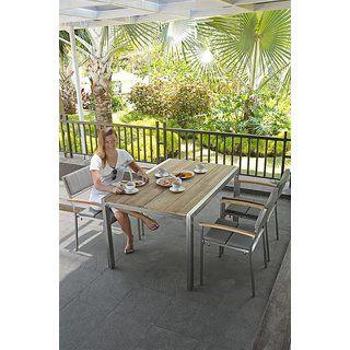 Kubex Zebra Mobel Tisch Ausziehbar 140x90 Cm Outdoor