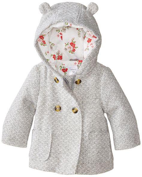 Amazon.com: Carter's Baby Girls' Infants Trans Single Jacket: Clothing