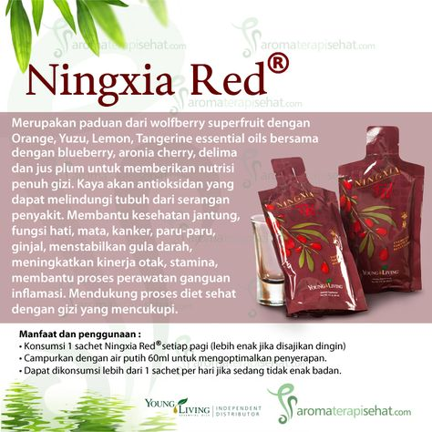 Ningxia Red Dengan Gambar Minyak Esensial Pelindung Tubuh Young Living