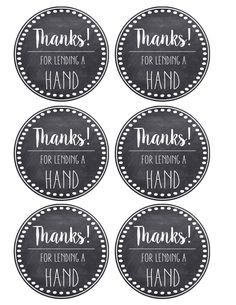 Thank You Teacher Appreciation Tags Free Printable Teacher