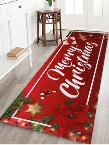 Merry Christmas Gift Printed Floor Mat
