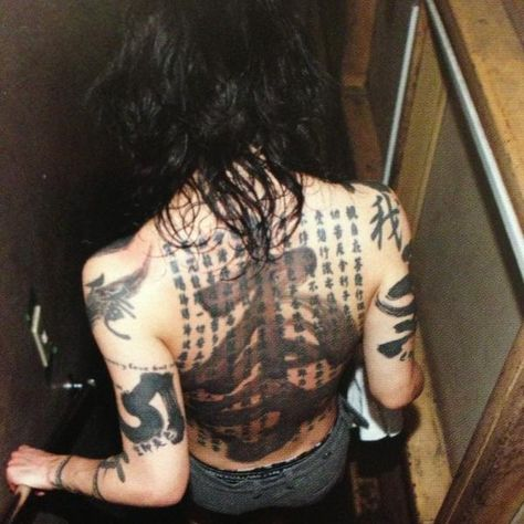 List Of Pinterest Miyavi Tattoo Back Images Miyavi Tattoo Back
