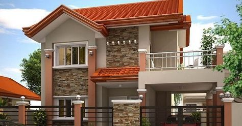 Planning To Build Your Own House Check Out The Photos Of These Beautiful 2 Storey Houses Desain Depan Rumah Desain Rumah Eksterior Desain Rumah 2 Lantai