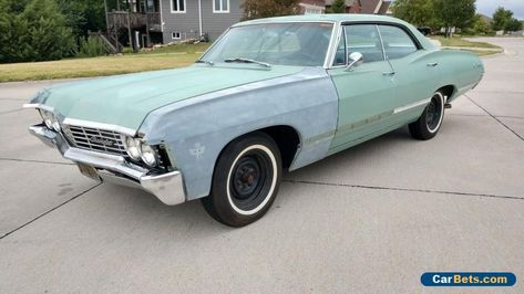 Car For Sale 1967 Chevrolet Impala Sport Sedan