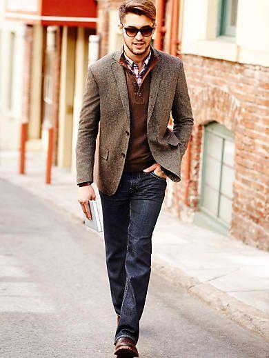 Stylist Tip for Men: How to Wear a Sport Coat | Sport coats, Sport ...