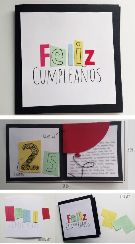 Make it yourself: // Tarjeta de cumpleaños para chico