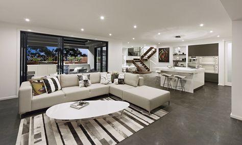 Aaron J Home Designs - Venetian Living Area   101 - Living Area