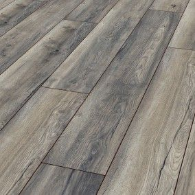 Kronotex Robusto 12mm Harbour Oak Grey Laminate Flooring D3572 Laminate Flooring Flooring Grey Laminate Flooring