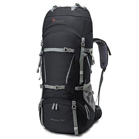 Zaino Trekking Alpinismo Escursionismo Militare Sport Outdoor Impermeabile 80 L