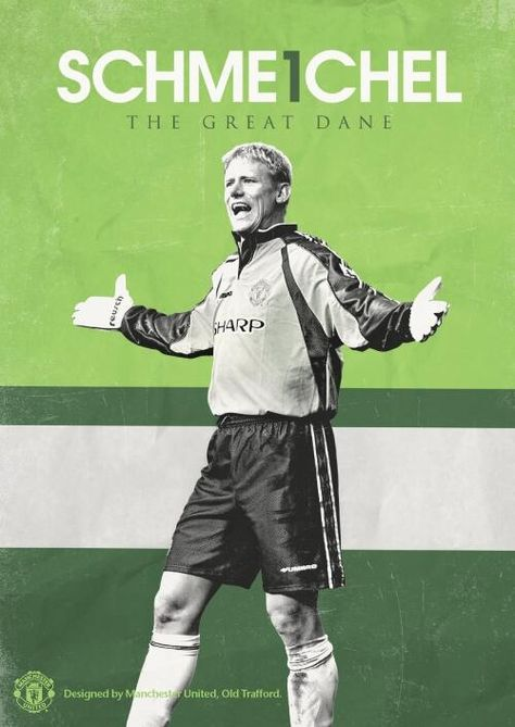 Gift Home Decor Print Wall Art Manchester United Poster Peter Schmeichel
