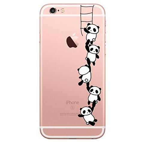 coque iphone 8 transparente panda