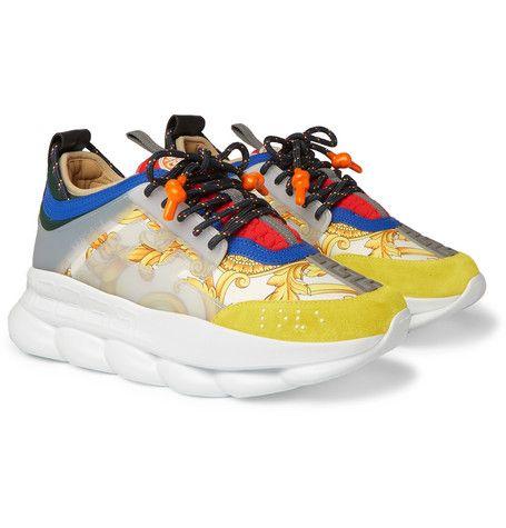 versace chain reaction men's sneakers