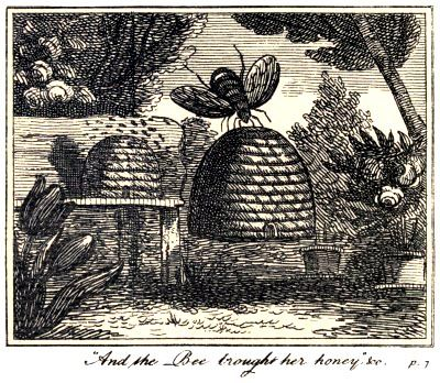 Illustration for The Butterfly's Ball and the Grasshopper's Feast by William Roscoe -published in 1807