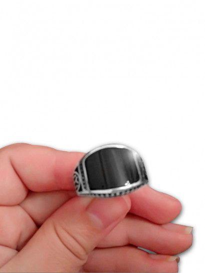خاتم فضة عيار 925 خاتم رجالى وحريمى فى نفس الوقت حجر كريم فضة ايطالى البيع بالقطعة Gemstone Rings Gemstones Jewelry