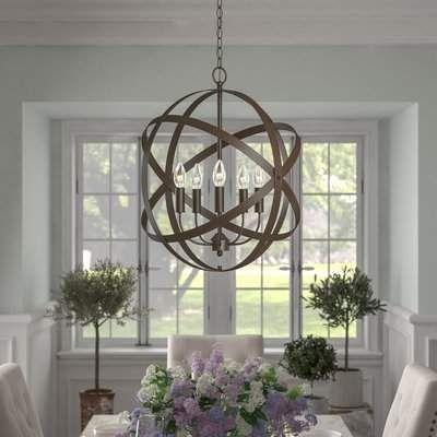 Globe Chandelier, Wayfair Lighting Fixtures Dining Room