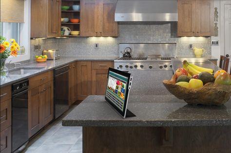 Amor Tablet By Mika Becktor Via Behance Green Kitchen Countertops Top Kitchen Countertops Elegant Kitchen Design