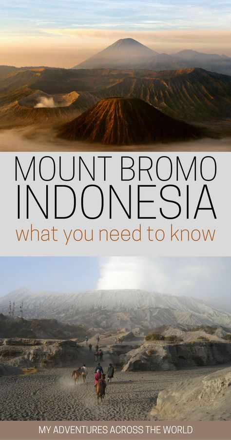 Find out what to expect when visiting Mount Bromo, Indonesia – and tips to make the most of it - via @clautavani via @clautavani