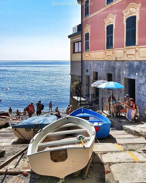 🎶🎵 Profumo di mare c'è Cammina nel sole walking away with me 🎶🎵 . . Spiaggia di Capolungo Passeggiata Anita Garibaldi Nervi - Genova ❤  La…