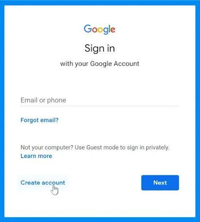 كيفية انشاء حساب Gmail How To Memorize Things Gmail Sign Gmail Sign Up