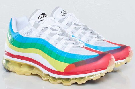 Special Edition Air Max 95 realeased for the London Olympic Games.