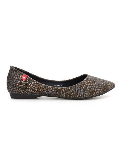 Baleriny Damskie W Szpic U274437 900 Buty Dodatki Kobieta Shoes Flats Fashion