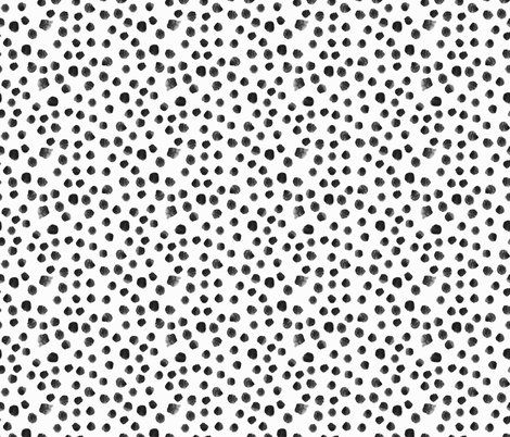 Noir Watercolor Dots Black And White Black And White Aesthetic Polka Dots Wallpaper White Pattern Wallpaper