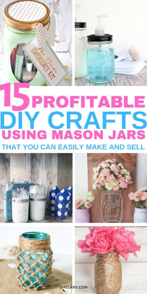 15 Diy Mason Jar Crafts To Sell For Extra Cash That You Need To Know About Mason Jar Diy Easy Mason Jar Crafts Mason Jar Crafts Diy