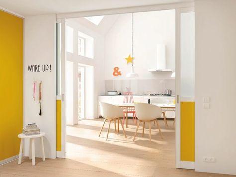 Offene Küche mit Schiebetür abtrennen Architecture, Window and Doors - offene küche wohnzimmer abtrennen