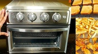 31 Cuisinart Air Fryer Convection Oven Toa 60c Youtube Toaster Oven Toaster Oven Reviews Toaster Oven Recipes