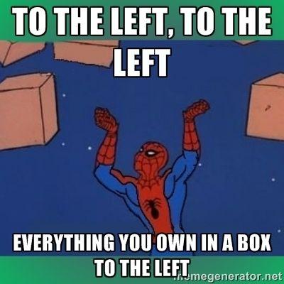 Maguire Garfield Holland Spider Man Pointing At Spider Man