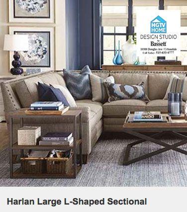 Home Sectional Sofas Living Room Bassett Furniture Living Room