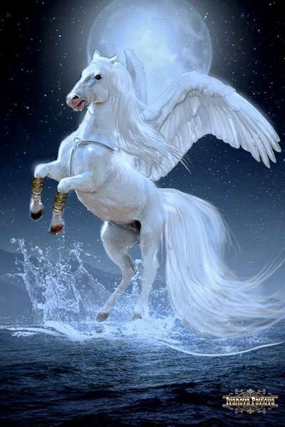 Cute Fantasy Creatures, Magical Horses, Mystical Animals, Wild Animal Wallpaper, Gothic Fantasy Art, Cute Pokemon Wallpaper, Mythical Creatures Art, Unicorn Pictures, Pegasus