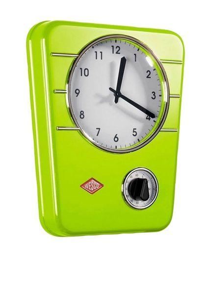 Wesco Timer Da Cucina Kitchen Clock Classic Line Lime su Amazon ...