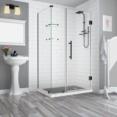 Aston Bromley Gs 68 X 72 Rectangle Hinged Shower Enclosure