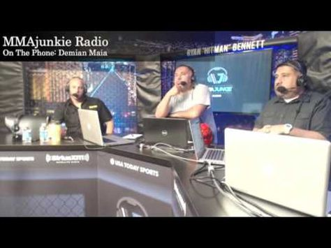 MMA Demian Maia on MMAjunkie Radio