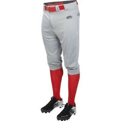 Advertisement Ebay Rawlings Launch Youth Knicker Pant Ylnchkp Grey S In 2020 Baseball Outfit Baseball Pants Pants