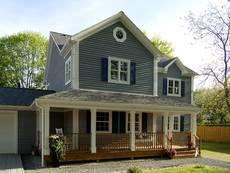 amerikanisches Haus Fertighaus bauweise amerikanisch bauen Baustil ...