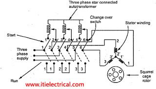 Auto Transformer Starter Image Electrical Circuit Diagram Induction Auto Transformer