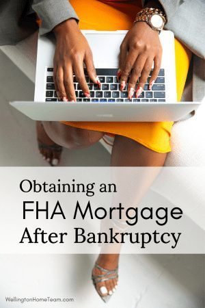 How A Bankruptcy Filing Will Affect Your Home Purchase Fha Mortgage Home Buying Home Buying Tips