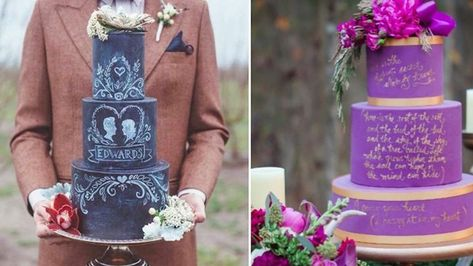 24 Of The Most Insanely Gorgeous Wedding Cakes On Instagram