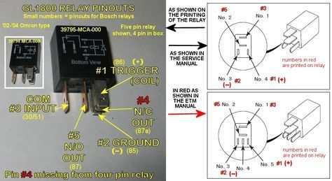 Relay Basics 101 Relay Boat Wiring Automotive Electrical