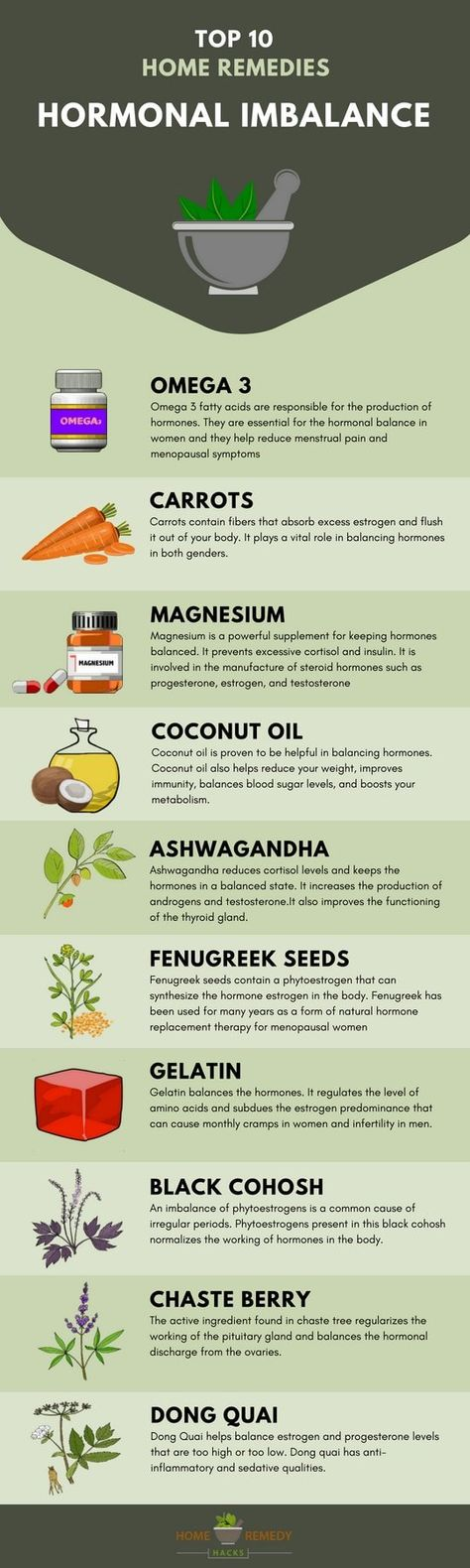 19 Natural Home Remedies For Hormonal Imbalance