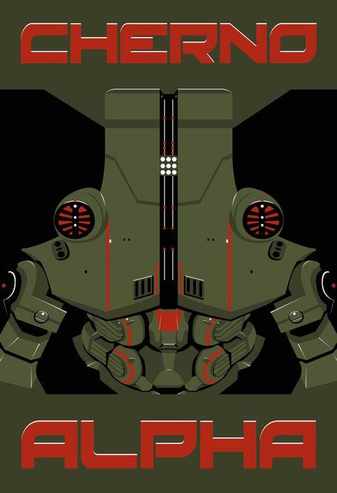 Pacific Rim - Cherno Alpha Poster - Jaeger