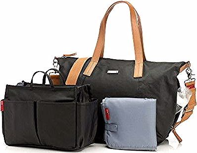 Sac A Langer Maman Noa Noir Storksak Bags Changing Bag Baby