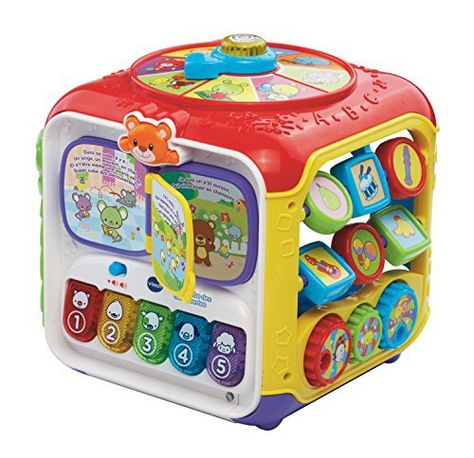 Vtech 183405 Super Cube Des Decouvertes Promo Amazon