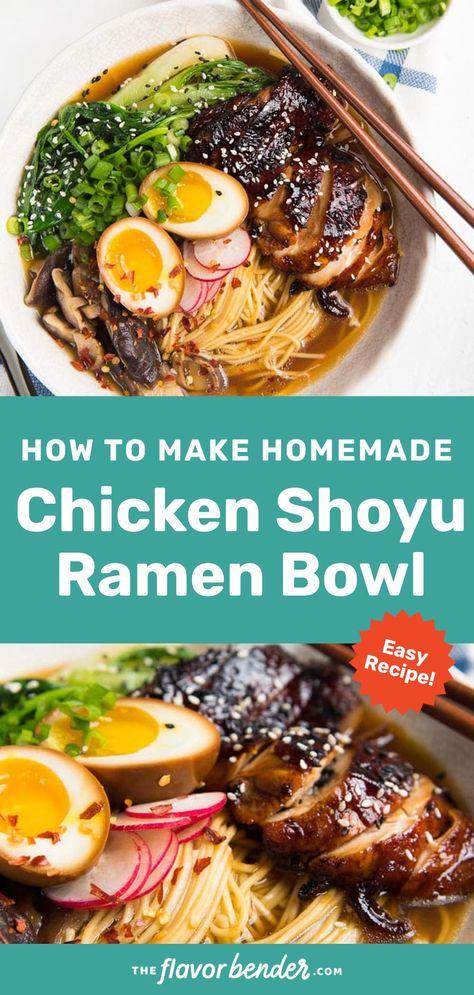 Easy Homemade Chicken Ramen with Noodles Recipe